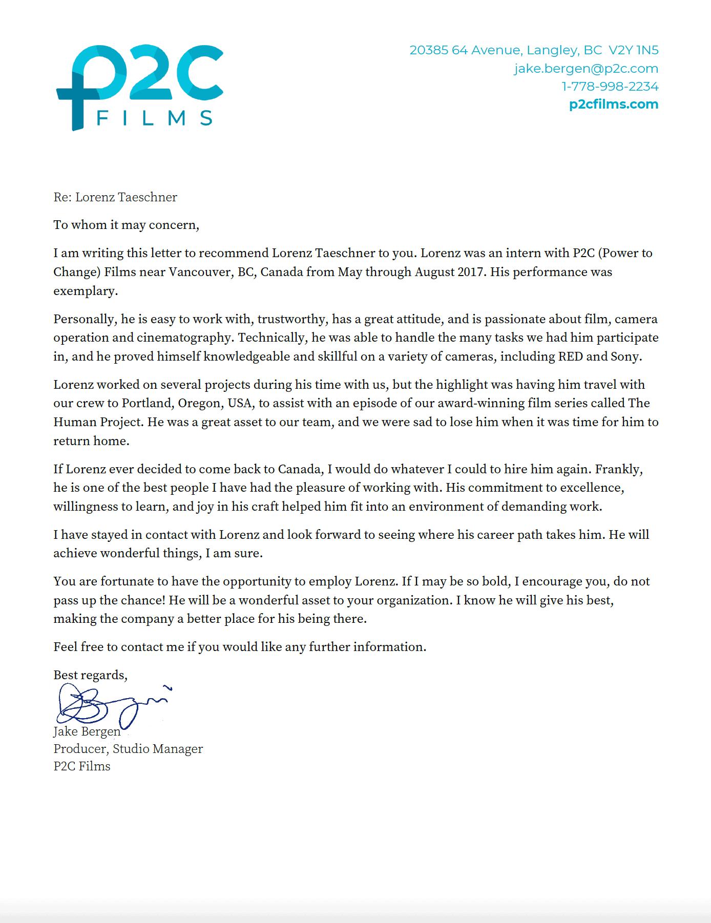P2C-Films-Letter-of-Recommendation-Lorenz-Taeschner